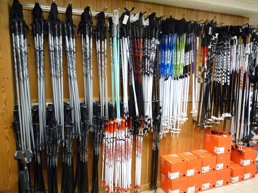 Batons de skis